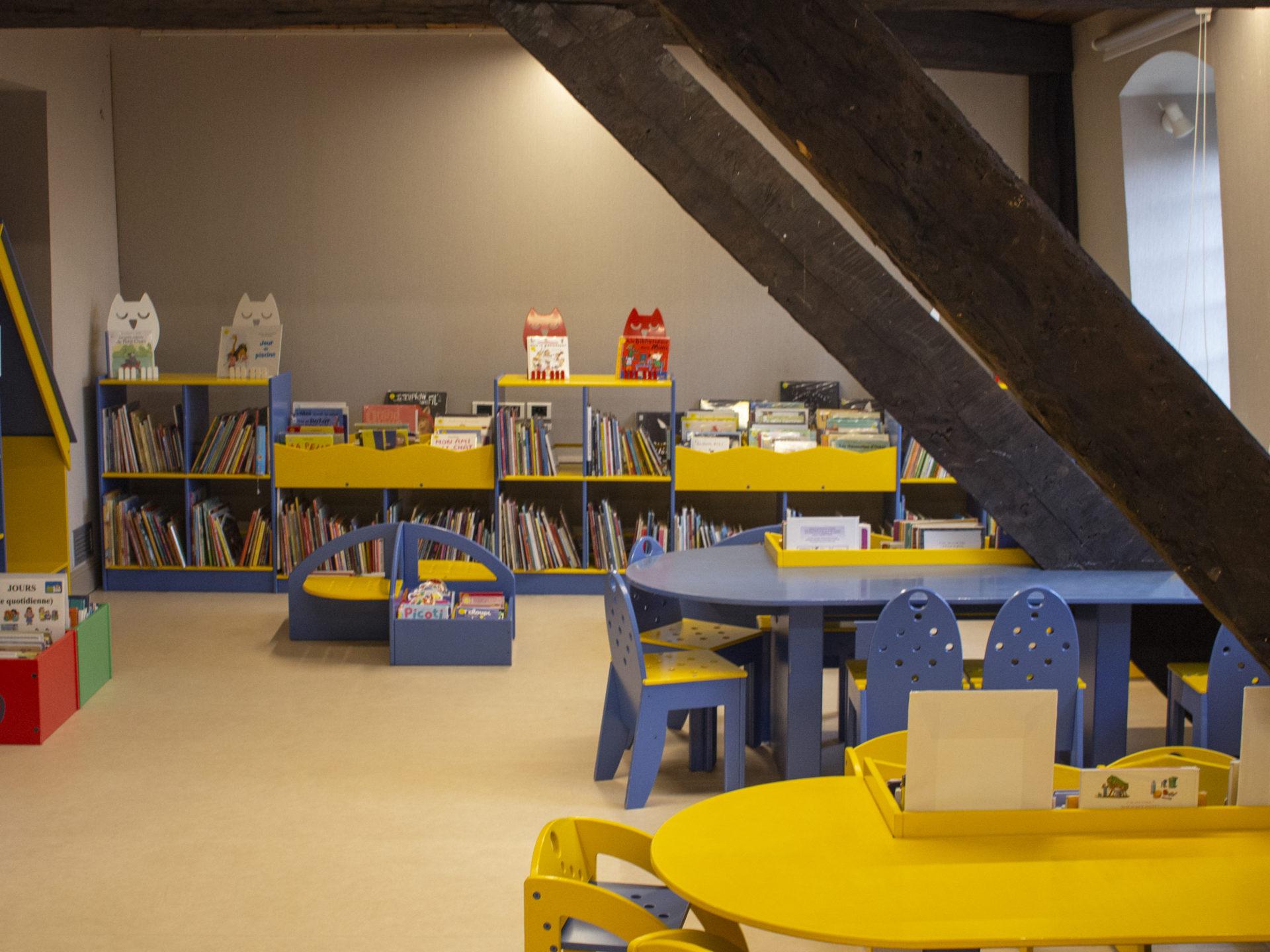 Bibliothèque Condorcet Montivilliers©Nathanelle Girard