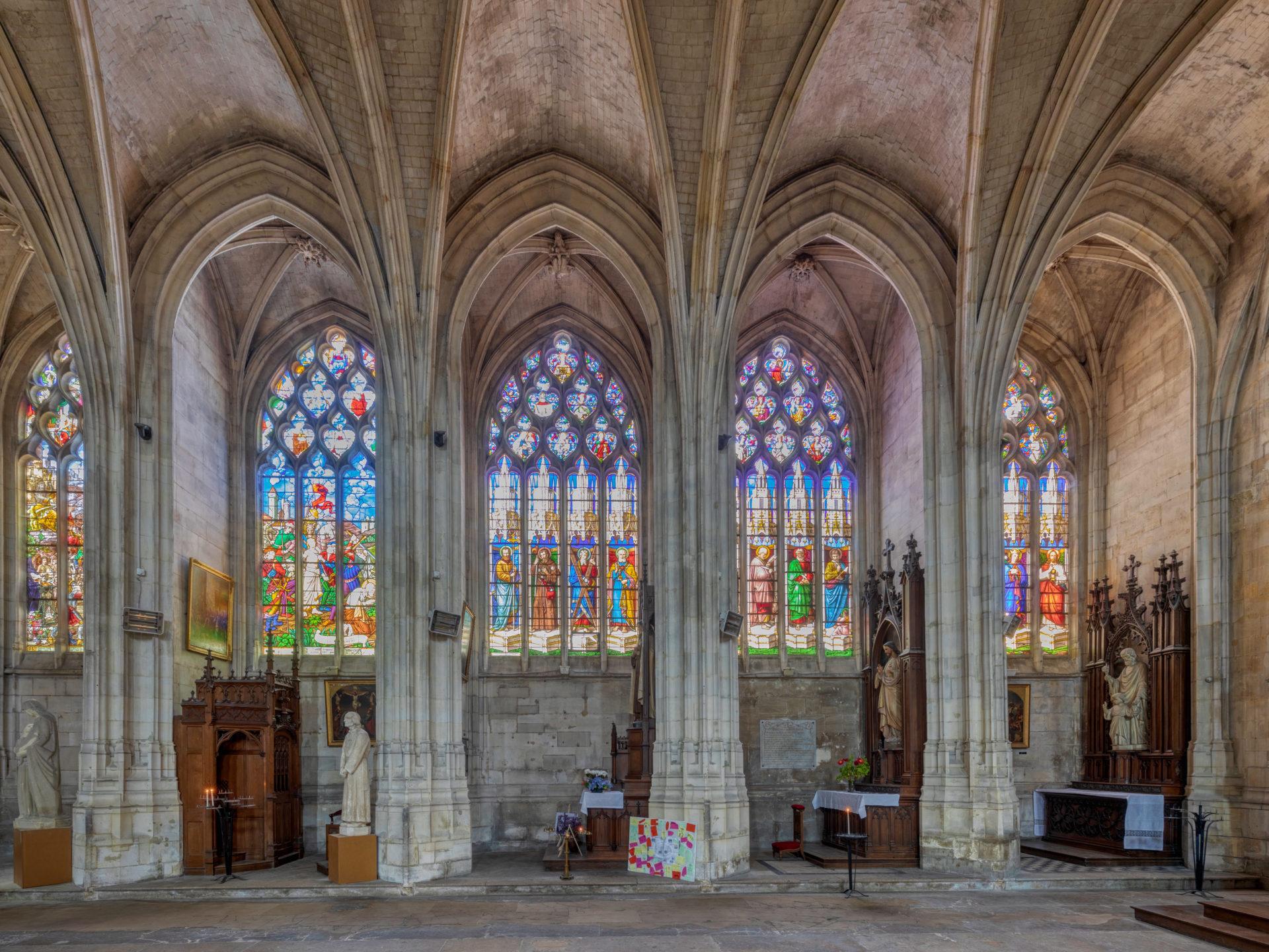 Eglise Abbatiale Montivilliers©Jacques Basile
