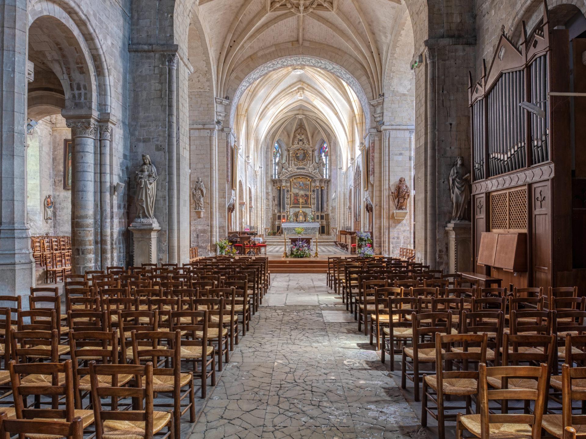 Eglise Abbatiale Montivilliers©Jacques Basille (3)