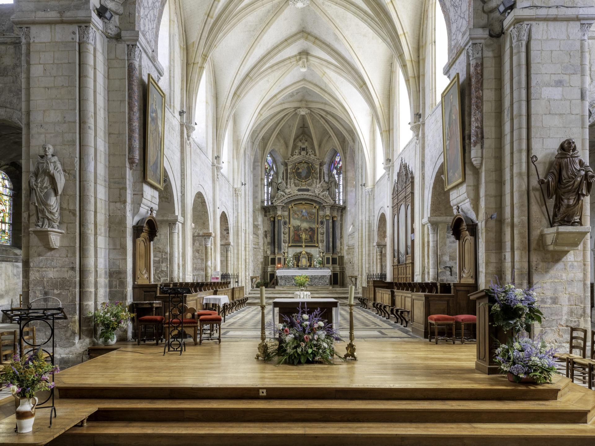 Eglise Abbatiale Montivilliers©Jacques Basille (4)