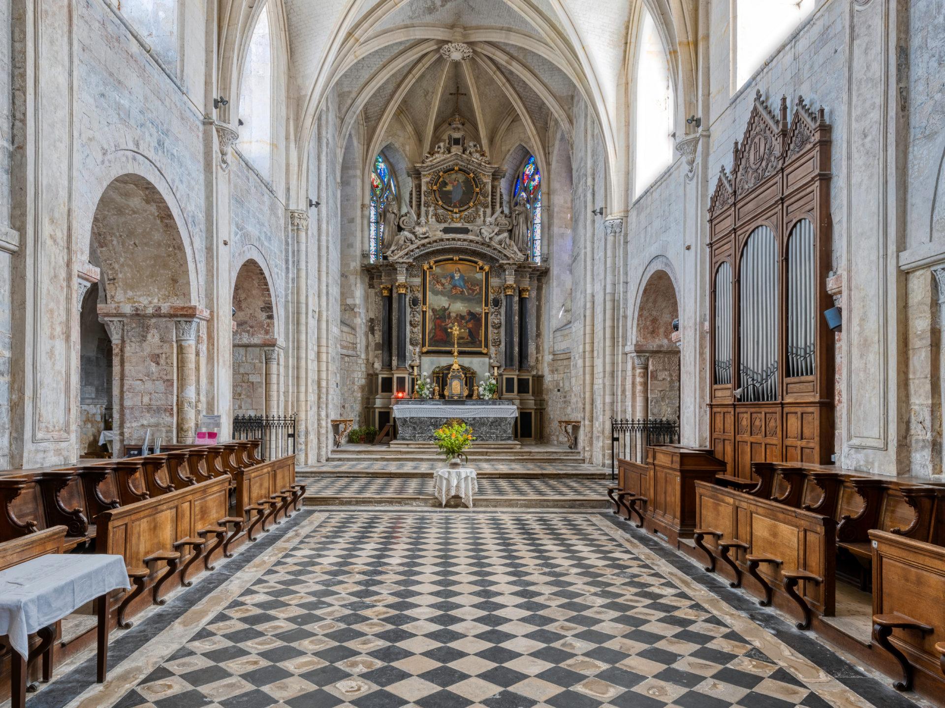 Eglise Abbatiale Montivilliers©Jacques Basille (5)