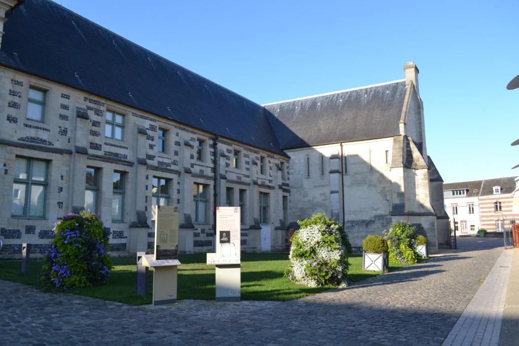 La promenade de l'abbaye