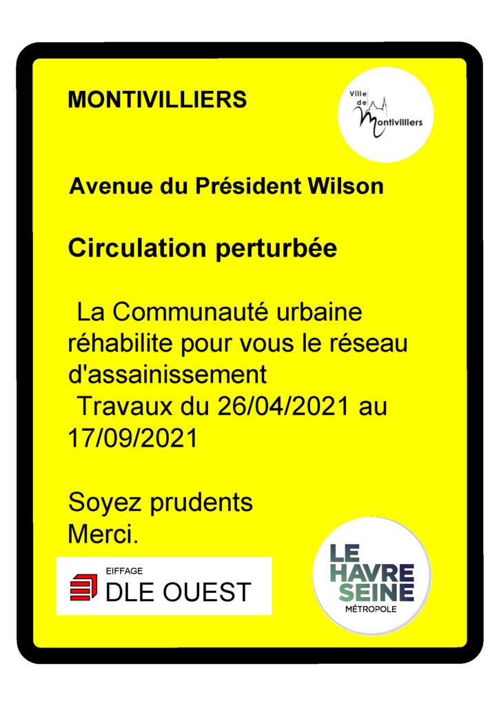 Avenue Wilson --> giratoire Jean Monnet