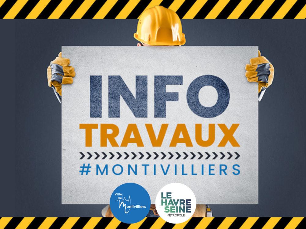 INFO TRAVAUX : Réfection de la voirie rue Paul Claudel