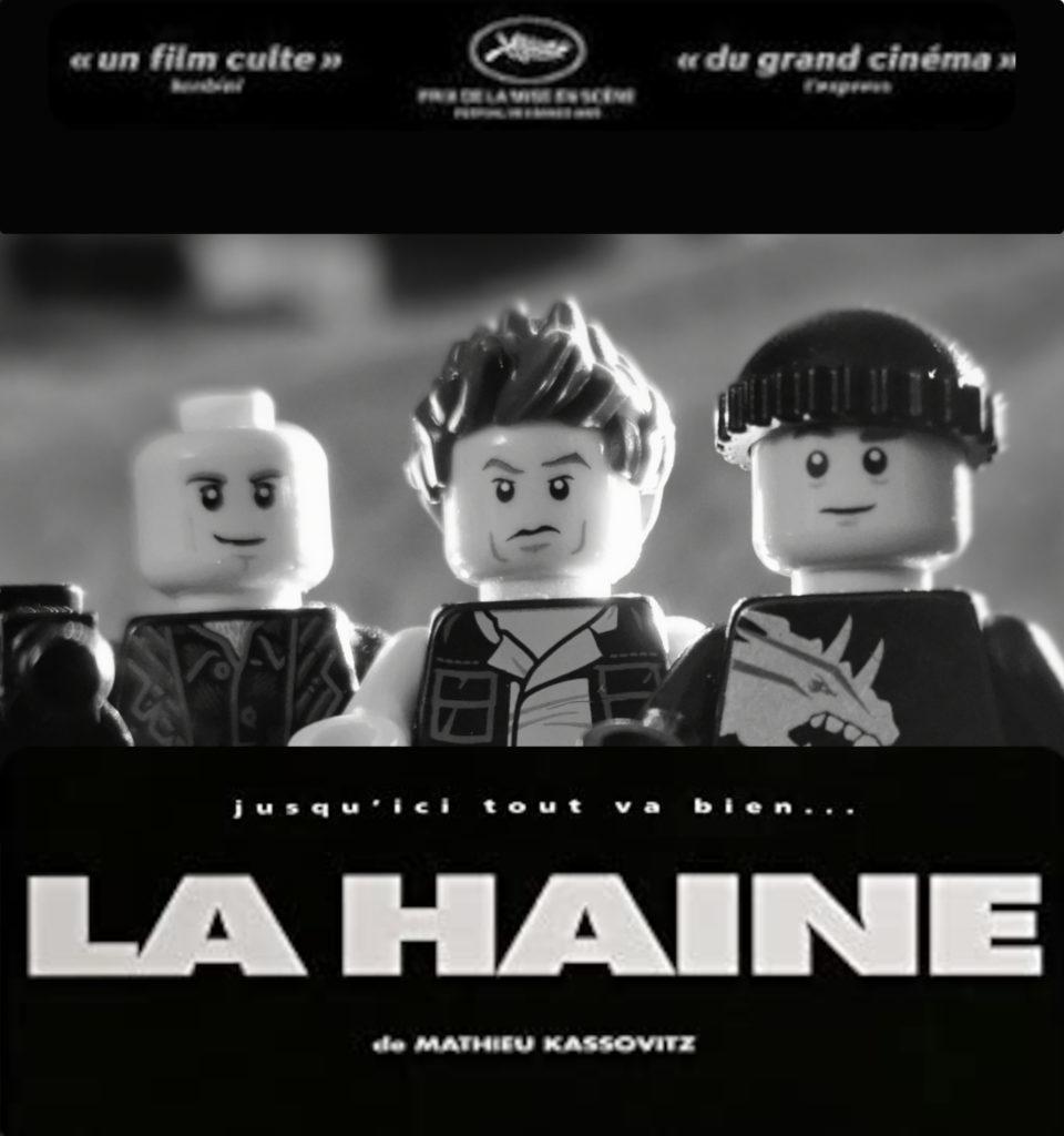 « La Haine » - Famille PERIER JOUET<br /> D'après « La Haine » de Mathieu KASSOVITZ