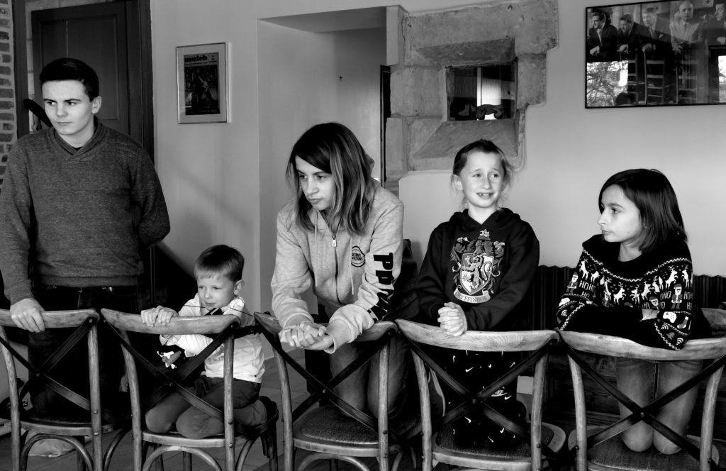 « Les Tontons flingueurs » - Famille PERIER JOUET<br /> D'après « Les Tontons flingueurs » de Georges LAUTNER