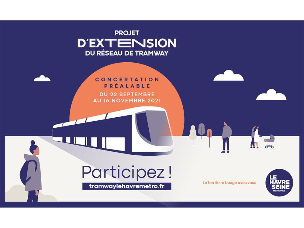 Participez à la concertation sur l'extension du Tramway !