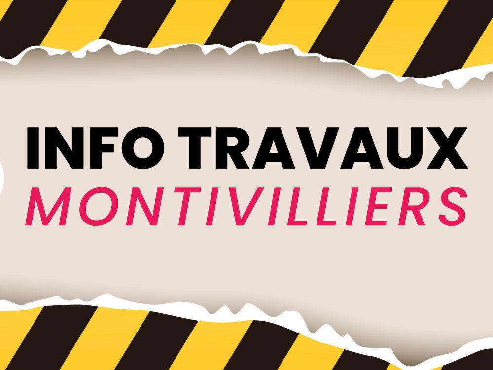 INFO TRAVAUX : rue du Moulin Calois