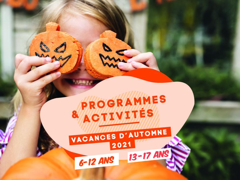 Activités jeunesse – Vacances d'automne