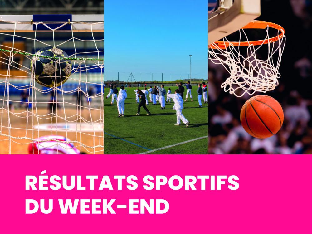 SPORT : les résultats du week-end