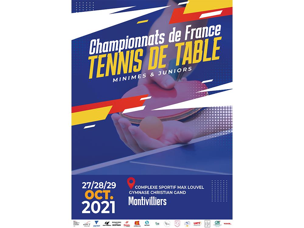 Championnats de France – Tennis de Table